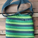 cipzártáska zöld Mini , Táska, Válltáska, oldaltáska, Mini cipzártáska (Kb. 20x18cm, szára kb 110cm)  Esti kimozduláshoz tökéletes kicsi táska, elf..., Meska
