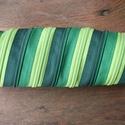 tolltartó  zöld cipzárspirál, Táska, Pénztárca, tok, tárca, Tolltartó (kb. 21x7cm)  Ezek a tolltartók egyediek, praktikusak és szépek. Nincs többé unalom ..., Meska