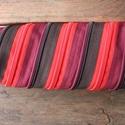 tolltartó bordó fekete piros cipzárspirál, Táska, Pénztárca, tok, tárca, Tolltartó (kb. 21x7cm)  Ezek a tolltartók egyediek, praktikusak és szépek. Nincs többé unalom ..., Meska
