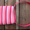 cipzártáska pink rózsaszín Mini , Táska, Divat & Szépség, Táska, Válltáska, oldaltáska, Mini cipzártáska (Kb. 20x18cm, szára kb 70cm)  Kislányoknak tökéletes kicsi táska, elfér benne minde..., Meska
