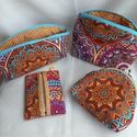 Mandala szett (neszesszer,tolltartó,zsepitartó,pénztárca), Amennyiben szereted a mandalák színes világát,...