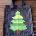 """""""Fenyőfás""""ovis táska külső zsebbel farmerból, Ezt az ovis táskát """"Deaki84"""" felhasználó rész..."""