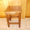 Hokedli - dió szín, Bútor, Szék, fotel, Szabvány konyhai ülőke (45 cm magas, 35 x 35 cm-es ülőlappal). A lábak és a kávák csapozás..., Meska