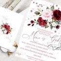 Tavaszi - nyári hangulatú esküvői meghívó, Esküvő, Meghívó, ültetőkártya, köszönőajándék, Papírművészet, Tavaszi - nyári hangulatú esküvői meghívó  Kérheted  gyönyörű készletben   is!  Megtalálod a  kínál..., Meska