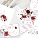Tavaszi - nyári esküvői meghívó készlet - kiegészíthető bármilyen  plusz extrákkal, Esküvő, Meghívó, ültetőkártya, köszönőajándék, Papírművészet, Gyönyörű tavaszias  meghívó készlet, . Magyar vagy angol szöveggel  (Saját tervezés) a képeken most..., Meska