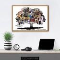 Kollázs - Családfa  kép / csodás szép fényképes fotós egyedi személyre szabható dekoráció ajándék ötlet család szeretet, Otthon & Lakás, Dekoráció, Kép & Falikép, Fotó, grafika, rajz, illusztráció, Gyűjtsd csokorba a kedvenc családi fotóidat, melyek kiváló alapjai lennének ennek csodaszép idézett..., Meska