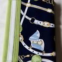 Textil füzetborító, Naptár, képeslap, album, Jegyzetfüzet, napló, Varrás, Egy kedves vásárlóm rávilágított, hogy igen nehéz a férfiaknak kézműve ajándékot találni, a legtöbb..., Meska