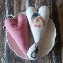 Vidám szív dekoráció plusz egy tojás :), Vidám, bohókás nyuszkóval és felirattal dísz...