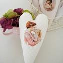 Anyák napi szív dekoráció, Igazi álmodozó, Anyák Napját köszöntő kép ...