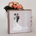 Esküvői fényképalbum, Esküvői fotóalbum, ami igazi vintagr hangulatot...