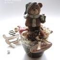 Karácsonyi asztaldísz, A karácsonyi asztalra vagy ajándéknak is kedves...