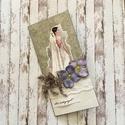 Esküvői pénzátadó boríték, Esküvő, Nászajándék, Sarolta kérésére készült boríték, Meska