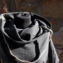 táskapulcsi, sötétszürke, női, Ruha, divat, cipő, Női ruha, Kabát, Táskává alakítható kámzsanyakú pulcsi, sötétszürke színben.   Pulcsiként viselheted, ha hűvös az idő..., Meska