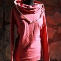 táskapulcsi, mályva, Ruha, divat, cipő, Női ruha, Kabát, Raglán ujjú táskapulcsi. A klasszikhoz képest testhezállóbb a felső részénél.   Táskává alakítható k..., Meska