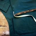táskapulcsi, zöld , Táskává alakítható kámzsanyakú pulcsi, söt...