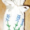 levendulazsák, Otthon, lakberendezés, Kongré anyagból készült levendulazsák, halványlila levendulával., Meska