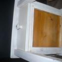hokedli, Dekoráció, Bútor, Otthon, lakberendezés, Szék, fotel, Fenyőfából készült egy fiókos, polcos ülőke (hokedli),  Magasság; 45 cm, ülőlapméret; 40x40 cm. Natú..., Meska