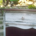 rusztikus tálalószekrény II., Bútor, Dekoráció, Szekrény, Fenyőfából készült, két fiókos, polcos, 90x40 cm alapterületű, 1,2 méter magas tálalószekrény. Hátfa..., Meska