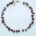 Breccsa jáspis nyakék , Ékszer, Medál, Nyaklánc, Jáspis  drágakövekből  készítettem ezt a különleges nyakéket ami ezüst színű cápazsinó..., Meska