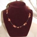 Vörös jáspis nyaklánc  -egyedi kézműves ékszerek!, Ékszer, Mindenmás, Medál,  Vörös Jáspis  drágakövekből  készítettem ezt a különleges nyakéket ami ezüst színű cápazsinórra let..., Meska