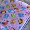 Babatakaró, Baba-mama-gyerek, Gyerekszoba,  Pihe-puha baglyos polárból készítettem azt a takarót. Mérete:60x 74 cm, Meska