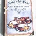 Cafés and Légumes - Sütik könyve, Naptár, képeslap, album, Konyhafelszerelés, Férfiaknak, Receptfüzet, Mindenkinek vannak olyan receptjei, melyet anyukájától, a nagyitól, vagy a barátnőjétől tanult. Add ..., Meska