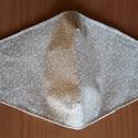 szájmaszk, 3 rétegű textil arcmaszk-betételhelyezési lehetőséggel, NoWaste, Egyéb, Textilek, Varrás, Mint minden jelenleg kapható maszk nem nyújt 100%-os védelmet a korobavírus ellen. Használatával el..., Meska