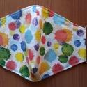 szájmaszk- 3 rétegű textil arcmaszk- betételhelyezési lehetőséggel, NoWaste, Textilek, Varrás, Mint minden jelenleg kapható maszk nem nyújt 100 %-os védelmet a koronavírus ellen. Használatával e..., Meska