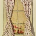 Rózsás vintage ablak, belaykarola számára készítettem megrendelésre...