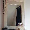 Shabby chic tükör, Egyedi tervezésű, díszes fa keretet készített...
